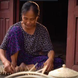 Tinh Hoa Nghề Việt - Làng nghề mây tre đan Tăng Tiến